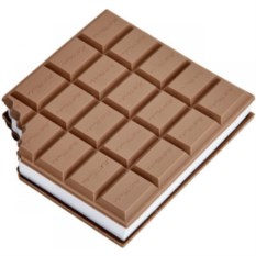 Блокнот с ароматом шоколада