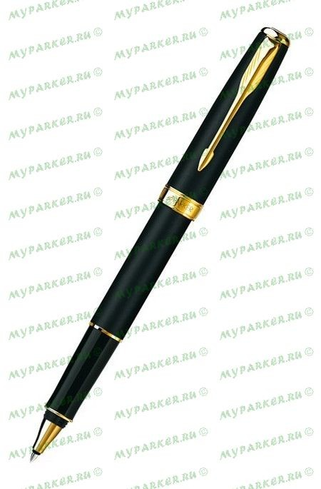 Ручка-роллер Parker Sonnet T528 Black GT