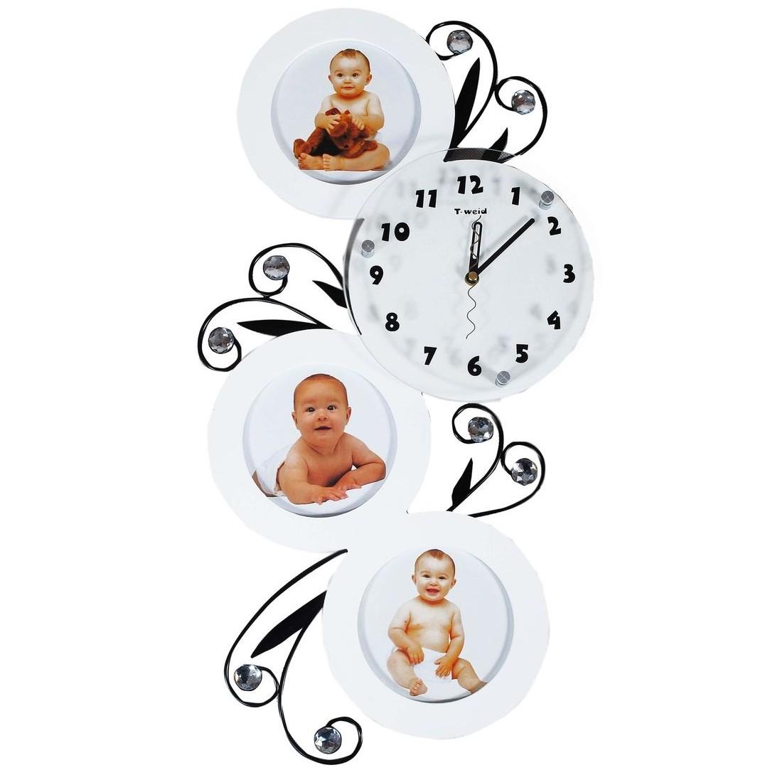 Настенные часы-фоторамка Избранное