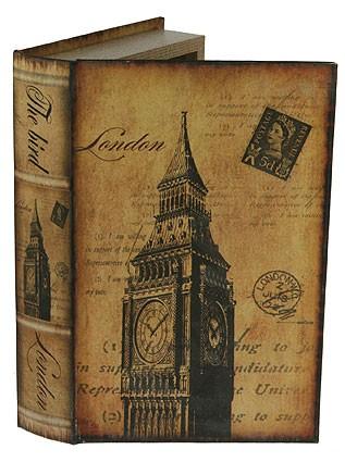 Шкатулка-фолиант Величие Лондона