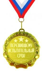 Медаль Пережившему испытательный срок