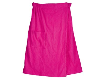 Женский набор для сауны, розовый