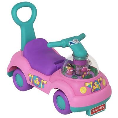 Машина-каталка Музыкальный зоопарк