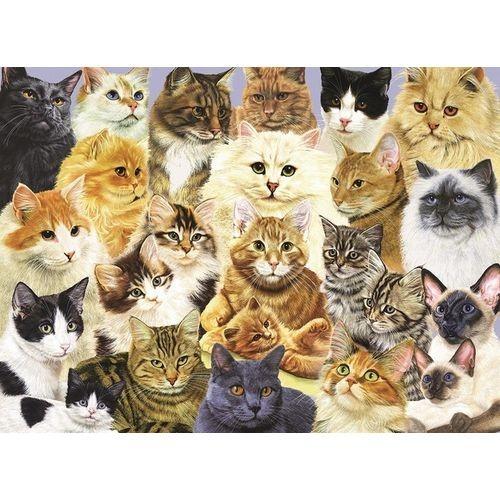 Пазл Парад кошек ХХL от Ravensburger