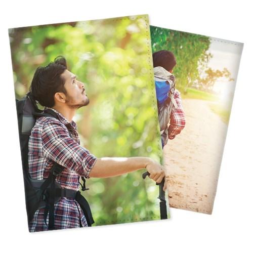 Обложка на паспорт с двумя вашими фото