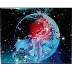 Картина с кристаллами Сваровски Скорпион Кагая