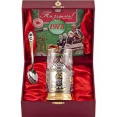 Набор для чая 45 лет с DVD открыткой о 1972 г.