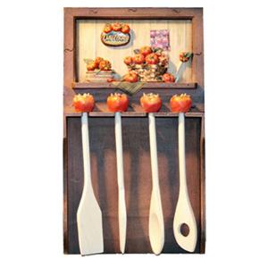 Коллаж — набор кухоных принадлежностей «Томаты»