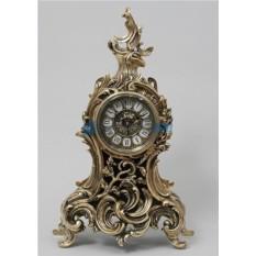 Каминные часы из бронзы Мерседес
