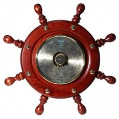 Барометр Штурвал, d 33 см