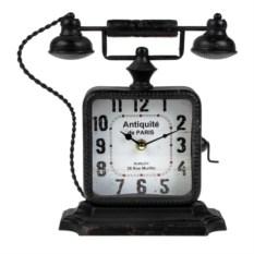 Настольные часы Старинный телефон