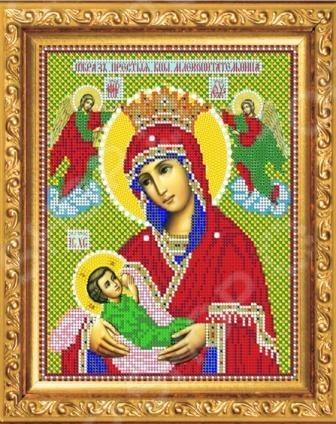 Набор для вышивания бисером «Богородица Млекопитательница»