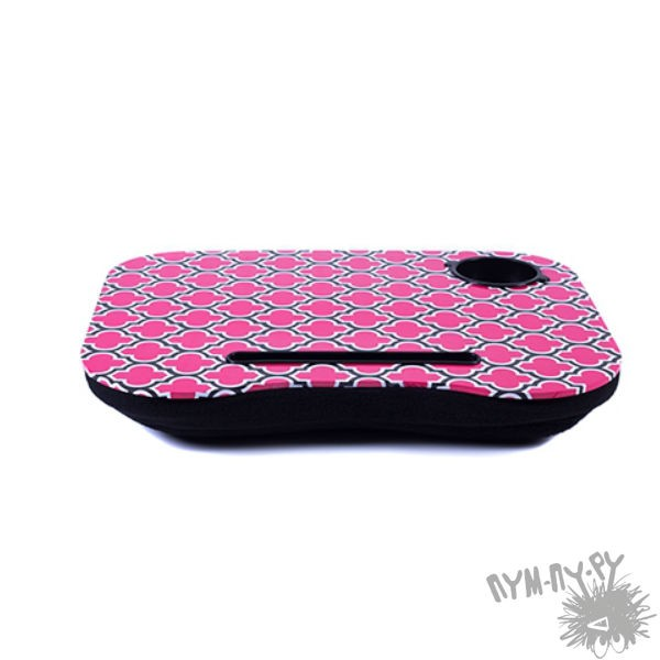 Подставка для ноутбука Розовая плитка