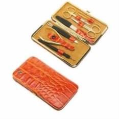 Оранжевый маникюрный набор GD из 7 предметов