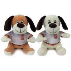 Музыкальная мягкая игрушка Собака (19 см)
