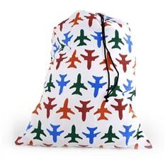 Складной дорожный мешок для белья Самолетики