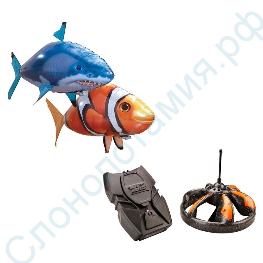 Комплект из летающих рыб и НЛО
