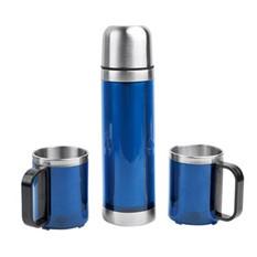 Набор: термос, 2 кружки в дорожной сумке с термоизоляцией