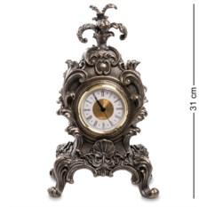 Часы в стиле барокко Королевский цветок