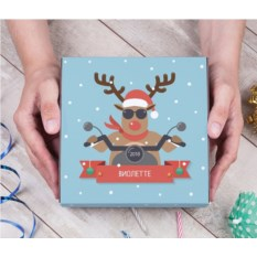 Именной набор конфет «Рождественский олень»