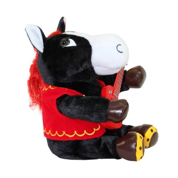 Мягкая игрушка Конь-музыкант