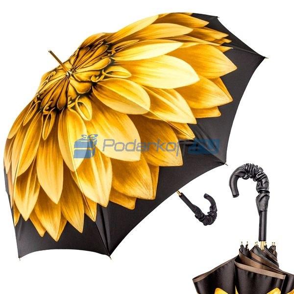 Зонт-трость Pasotti Anzi Georgin Giallo Pelle