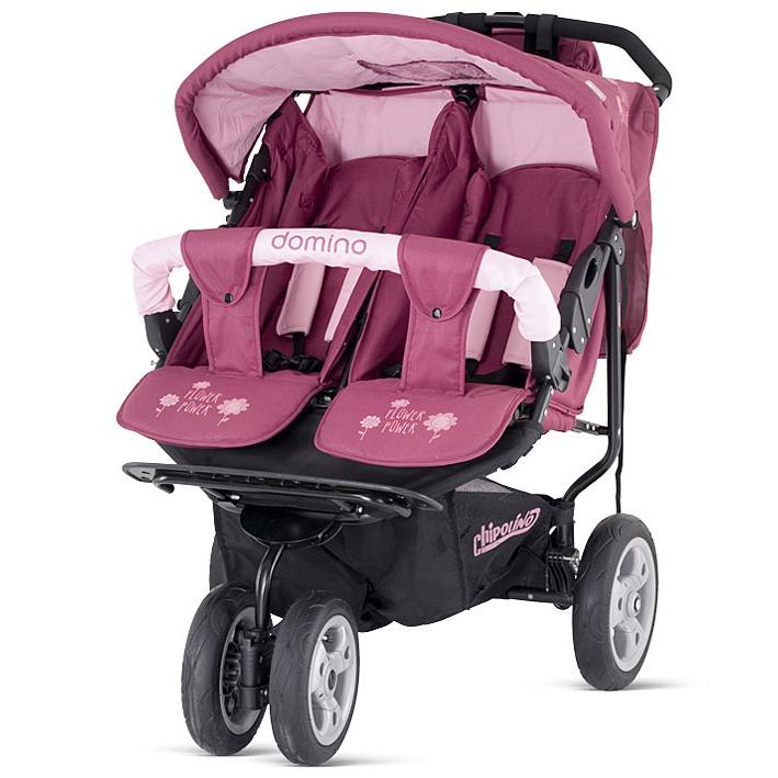 Детская коляска для двойни DOMINO