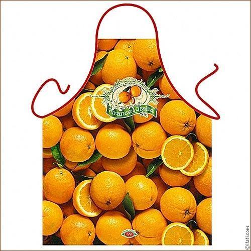 Фартук прикольный Апельсиновый рай