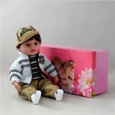 Декоративная виниловая кукла Мальчик