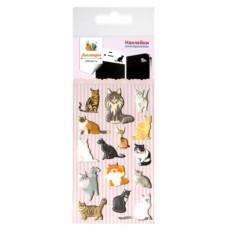 Наклейки для гаджета Породы кошек (Липляндия)