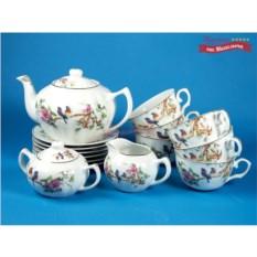 Чайный сервиз на 6 персон Летний сад