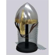Назальный шлем с кольчужной защитой