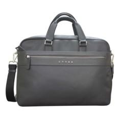 Серый кожаный портфель Cross Nueva FV