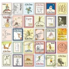 Набор наклеек Stamp Sticker – Le Petit Prince