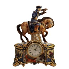 Настольные часы Соколиная охота