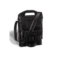 Универсальная кожаная сумка Brialdi Flint (цвет — черный)