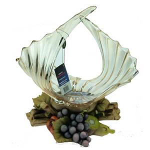 Ваза-чаша декоративная «Фрукты» 33 см