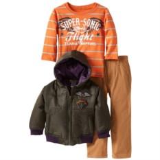 Комплект для мальчика 3 в 1 (куртка, брюки, лонгслив)