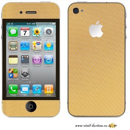 Наклейка на iPhone 4S