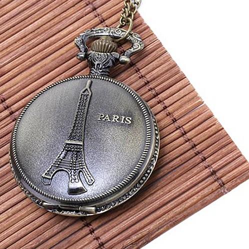Подвеска-часы Париж