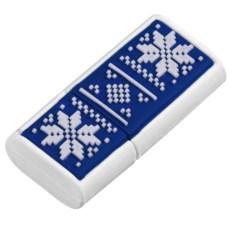 Синия флешка Скандик(8 Гб)