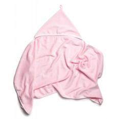 Полотенце с уголком Лялечка (розовое)