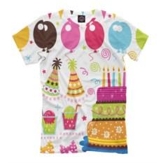 Мужская футболка Print Bar Праздники