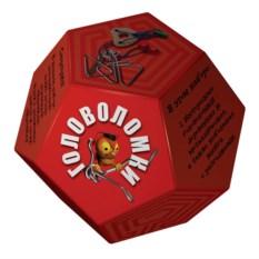 Красный набор головоломок «Додекаэдр»