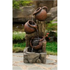 Садовый декоративный фонтан Кувшины