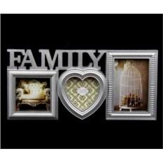 Фоторамка Family (цвет - серебро)