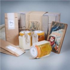 Подарочный набор меда Медовая энергия