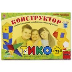 Конструктор ТИКО «Малыш», 79 деталей
