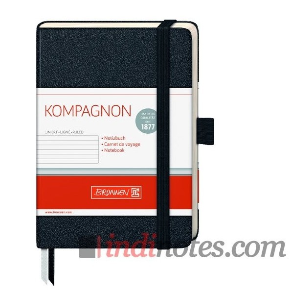 Записная книжка Brunnen Kompagnon Black Classic A6
