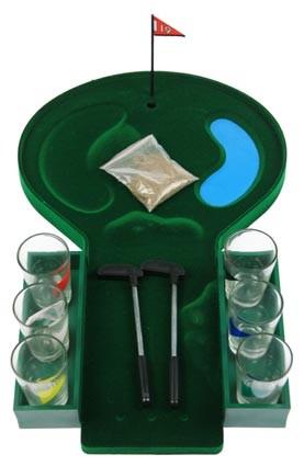 Настольная алкогольная игра Гольф